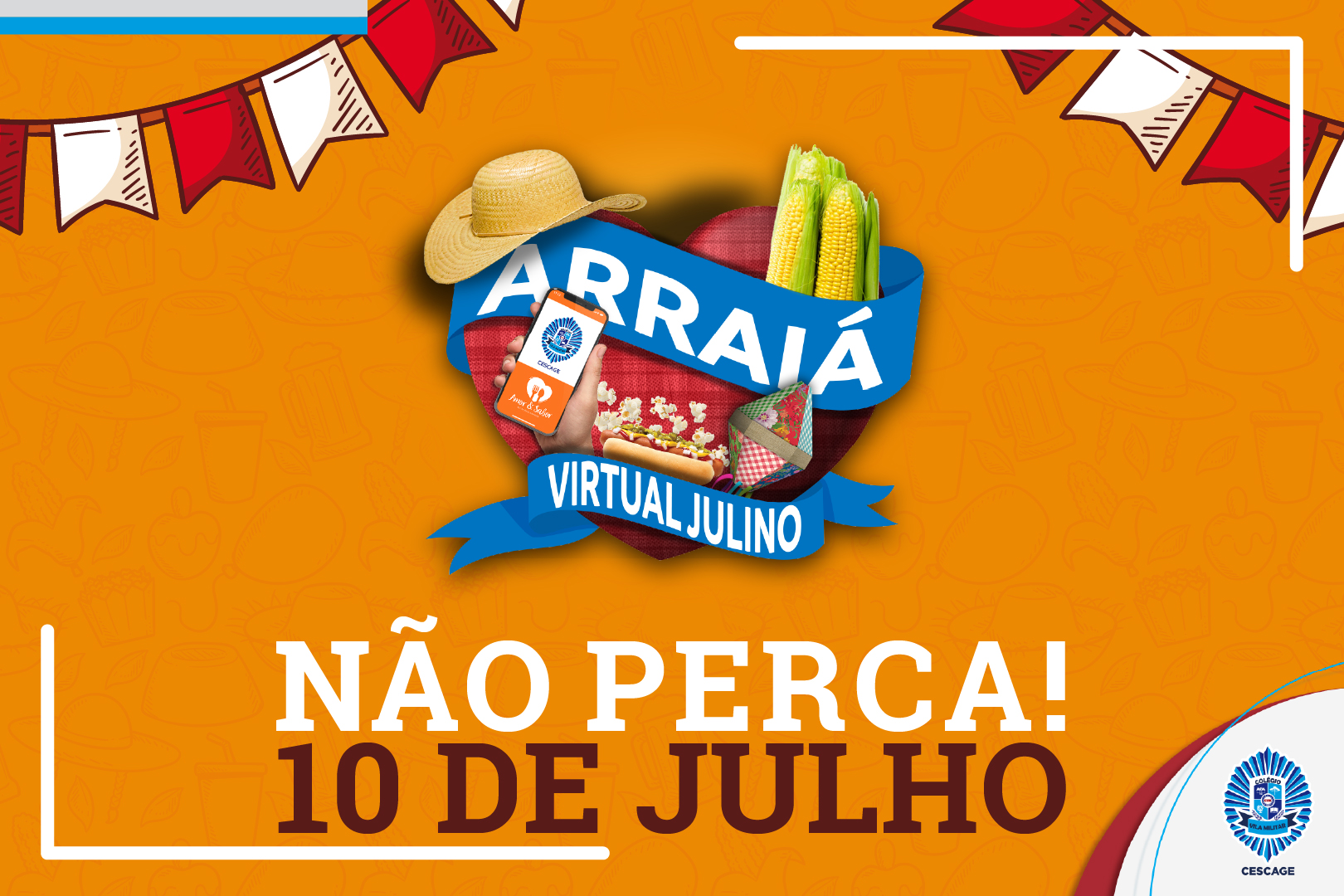 Arraiá Virtual Julino